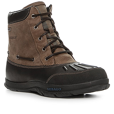 SEBAGO Wells Riverbank Mid black coffee B17103