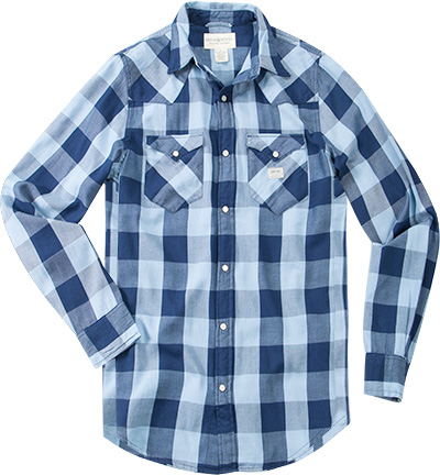DENIM&SUPPLY Hemd M04-WLSWE/CFLAN/I40MP