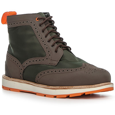 SWIMS Charles High Top 120000/green-brown
