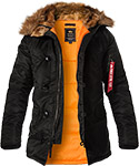 ALPHA INDUSTRIES Jacke N-3B VF 59  103141/03