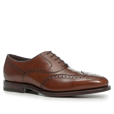 Prime Shoes Full Brogue cuoio
