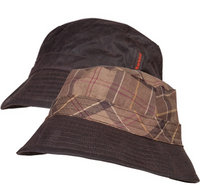 Barbour Wax Sports Hat rustic