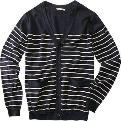 Aigle Cardigan Seayarn navy cloud D3311