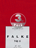 Falke Luxury Socke 3er Pack No.6 14451/8120