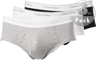 Calvin Klein COTTON BASIC Slip 3er Pack U1000A/998