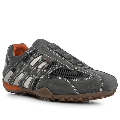 GEOX Snake dark grey-off white U4207L/02214/C1300