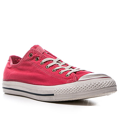 Converse Washed Ox Can tango red 136715C
