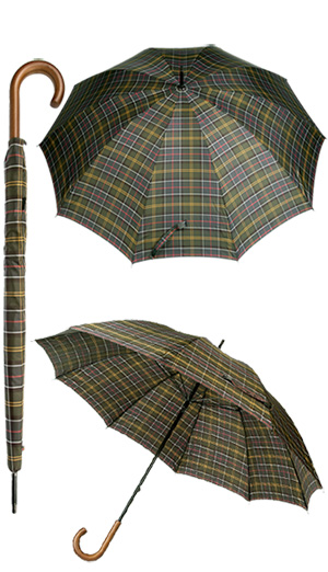 Babour Classic Tartan Golf Umbrella MAC0002TN11 (Dia 1/1)