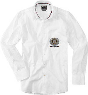 Barbour Hartley white