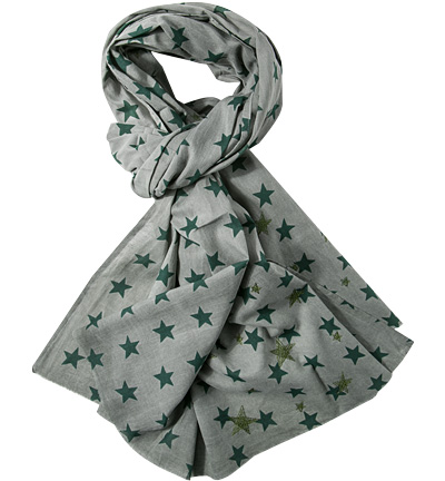 Strellson Sportswear Schal grey-green : Strellson Sportswear Schal grey-green  Herren in grün