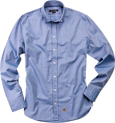 Marc O'Polo Hemd sharp blue 321/1138/42344/838