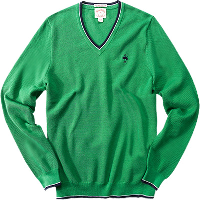 Brooks Brothers V-Pullover mint green 77673026