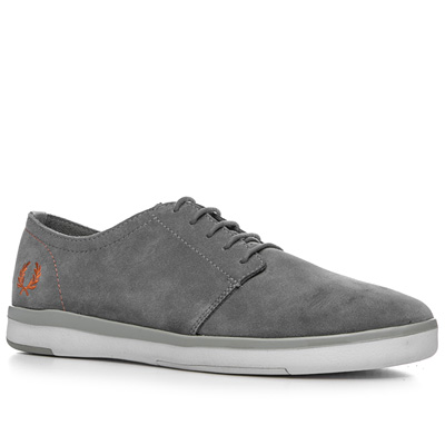 Fred Perry Blackwell Suede mid grey B2261/614