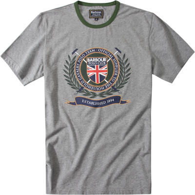 Barbour T-Shirt mid grey marl MML0448GY53