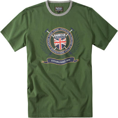 Barbour T-Shirt racing green MML0448OL72
