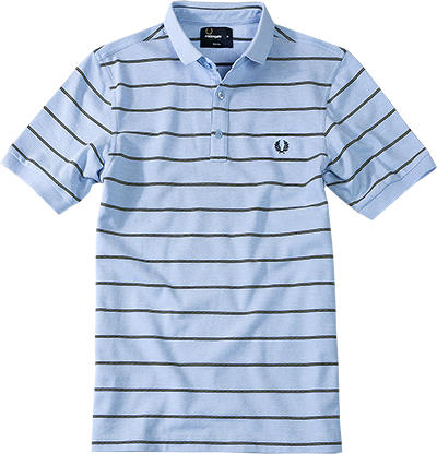 Fred Perry Polo-Shirt light smoke M2284/146