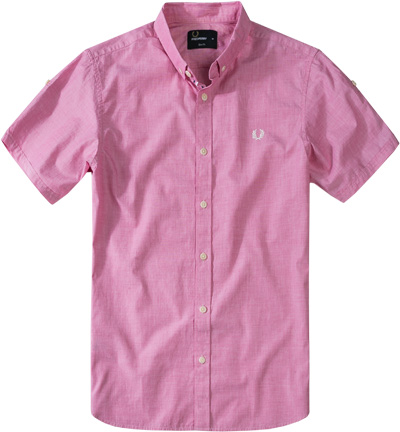 Fred Perry Hemd pink M2316/B27 Sale Angebote Tettau