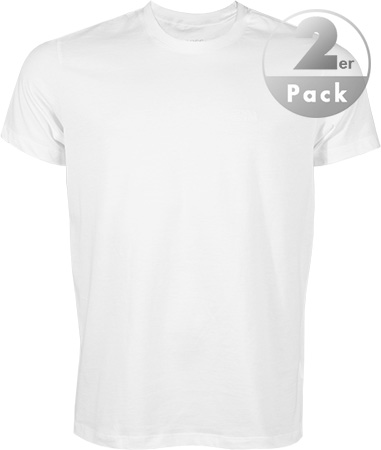 HUGO BOSS RH-Shirt 2er Pack white 50239769/100