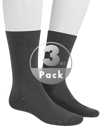 Hudson Relax Cotton Socken 3er Pack 004400/550