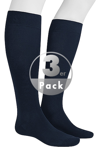 Hudson Relax Cotton Knee 3er Pack 004900/0331