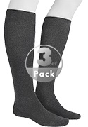 Hudson Relax Cotton Knee 3er Pack 004900/550
