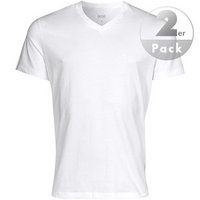 HUGO BOSS V-Shirt 2er Pack white