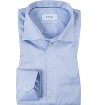 ETON Slim Fit EL hellblau