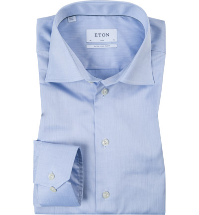 ETON Slim Fit EL hellblau 3000/79513/21