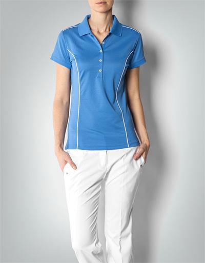 adidas golf damen polo shirt climalite blue aus funktionellem gewebe empfohlen von deinen schwestern. Black Bedroom Furniture Sets. Home Design Ideas