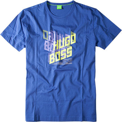 BOSS Green T-Shirt medium blue 50240167/Tee3/427