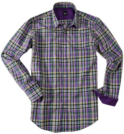 HUGO BOSS Hemd medium purple 50237257/Ronny/511