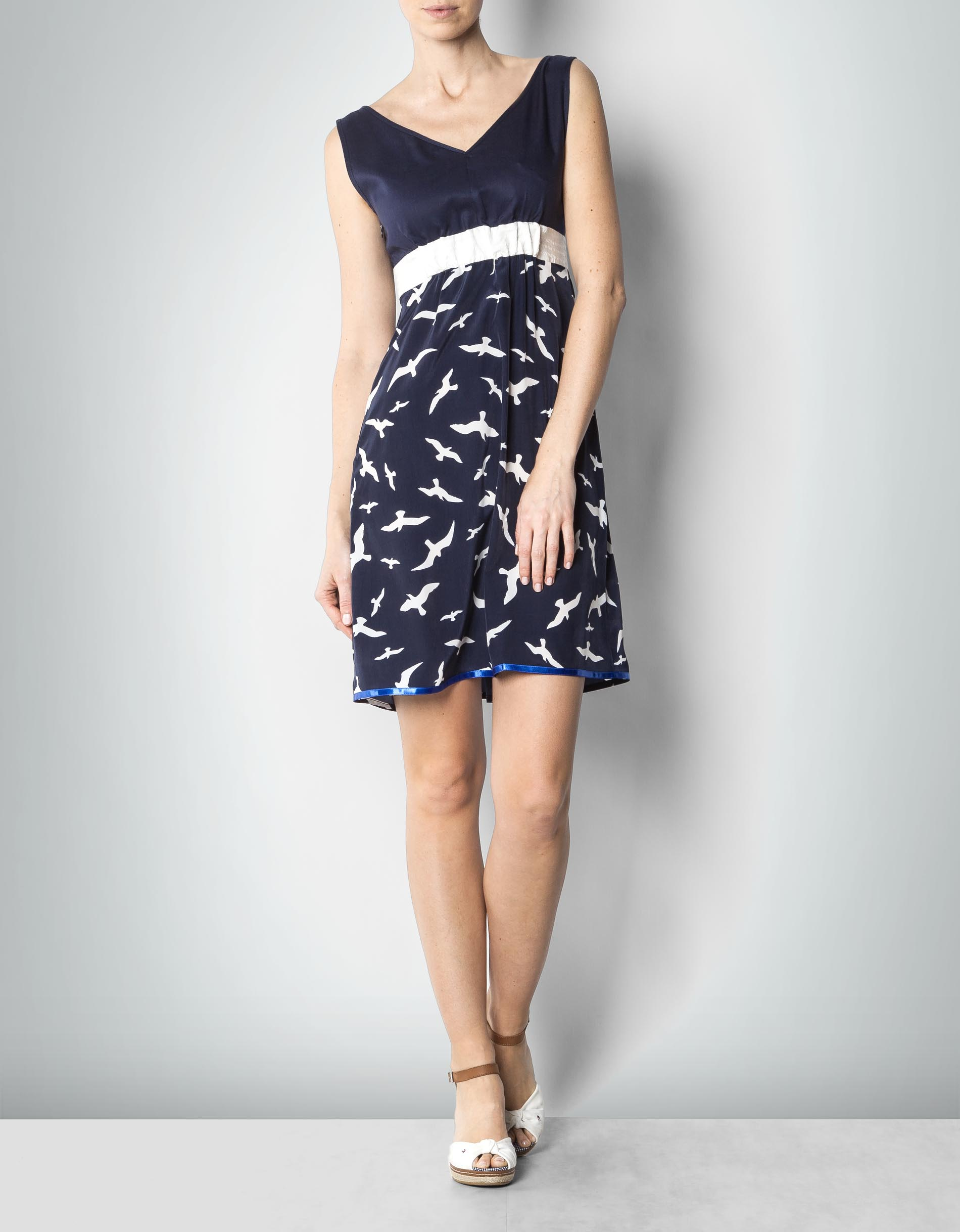 tommy hilfiger damen kleid mit vogel print empfohlen von