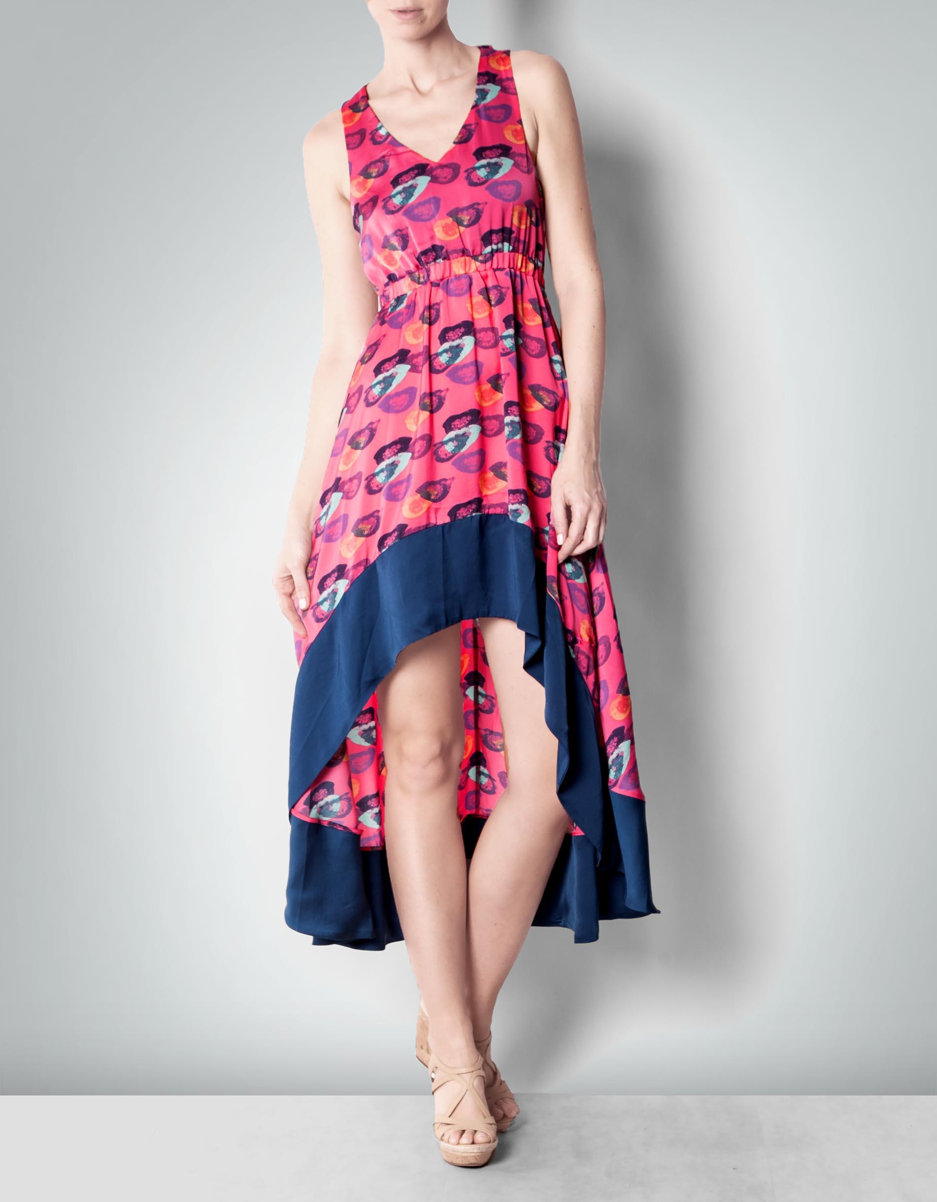 Pepe Jeans Damen Kleid Dix Pink Im Vokuhila Stil Empfohlen Von