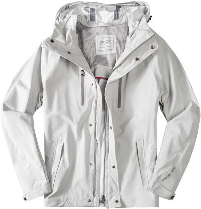 GEOX Jacke light grey M3221B/T1836/F1136