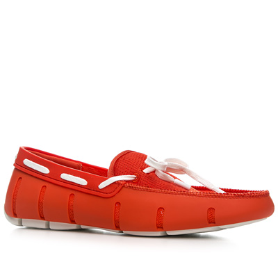 SWIMS Lace Loafer 21202/fire/white
