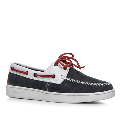 SEBAGO Wentworth 2 eye navy-white B226001