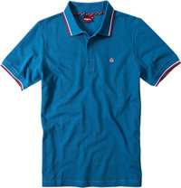 Merc Polo-Shirt Card blau