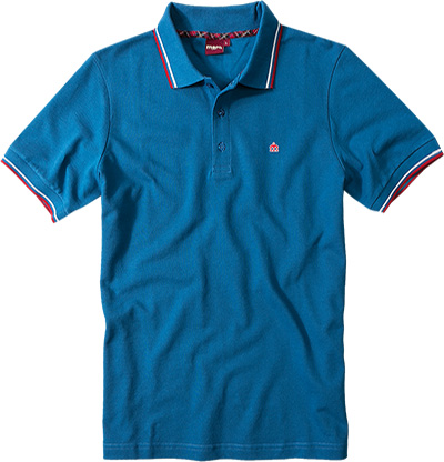 Merc Polo-Shirt Card blau 1906203/253
