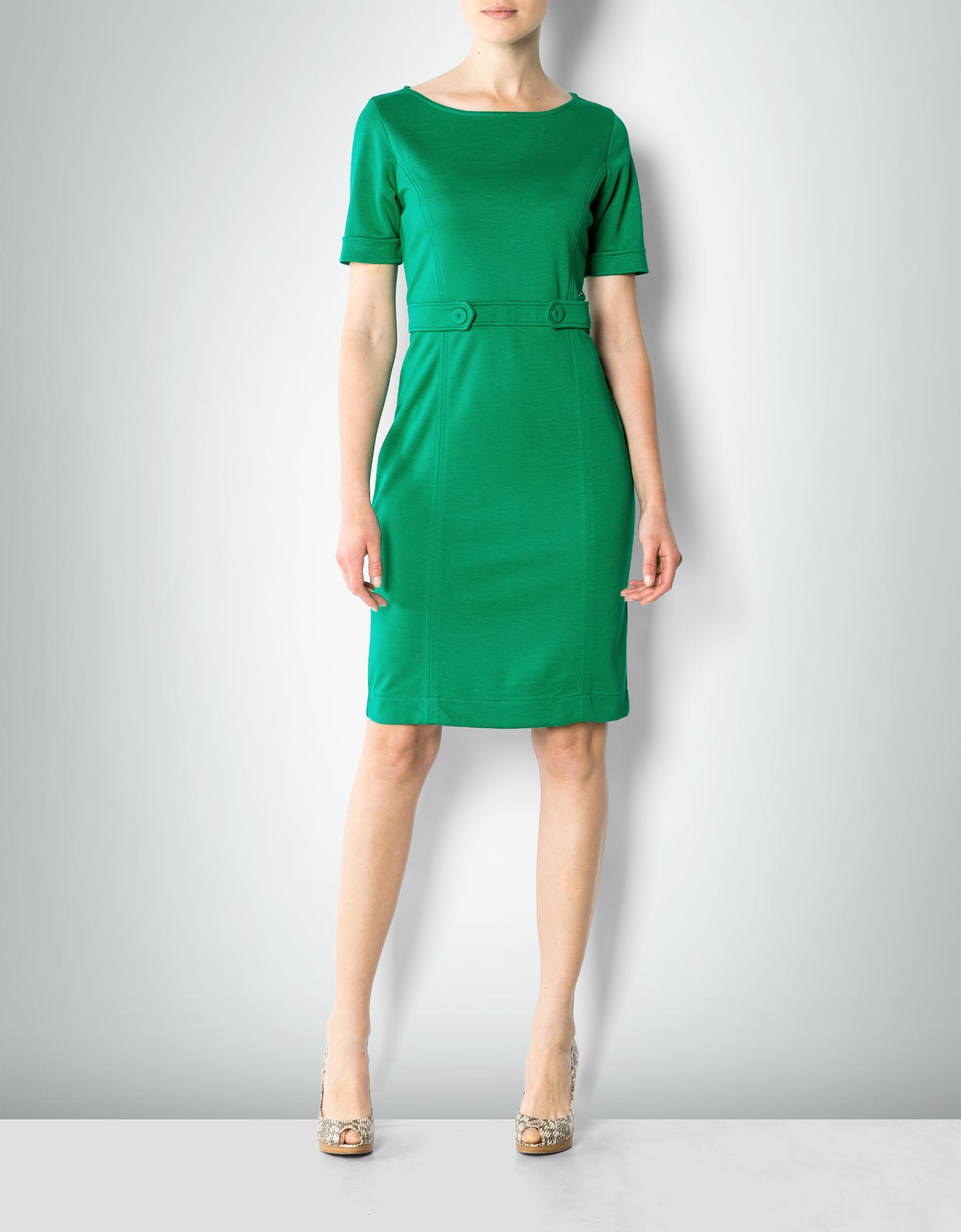 damen kleid dunkelgrün