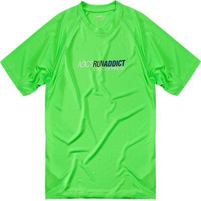 ASICS T-Shirt green 100112/0496