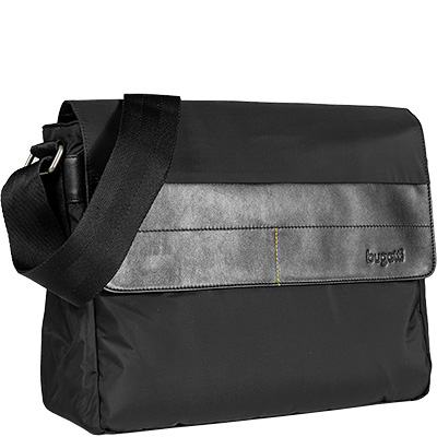 bugatti Dynamics Messenger Bag schwarz 49103701