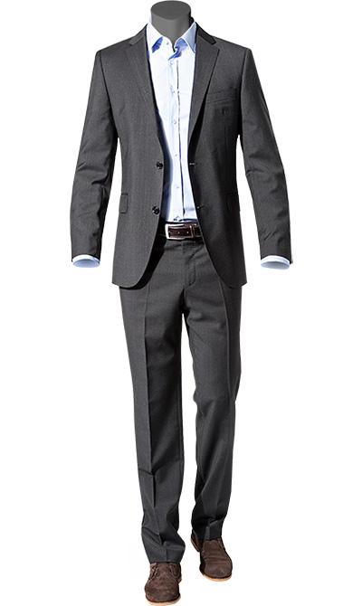 tommy hilfiger tailored anzug tt67834124 in grau. Black Bedroom Furniture Sets. Home Design Ideas