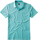 HUGO BOSS Polo-Shirt t�rkis 50244439/384