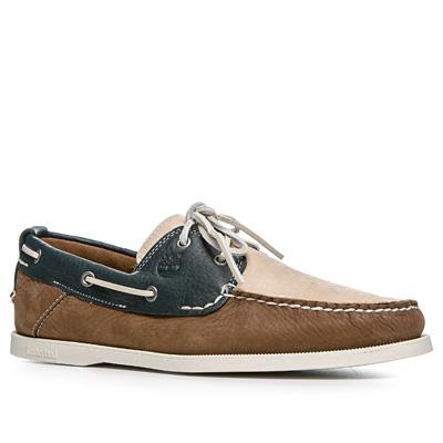 Timberland Schuhe braun-blau 6502R Preisvergleich
