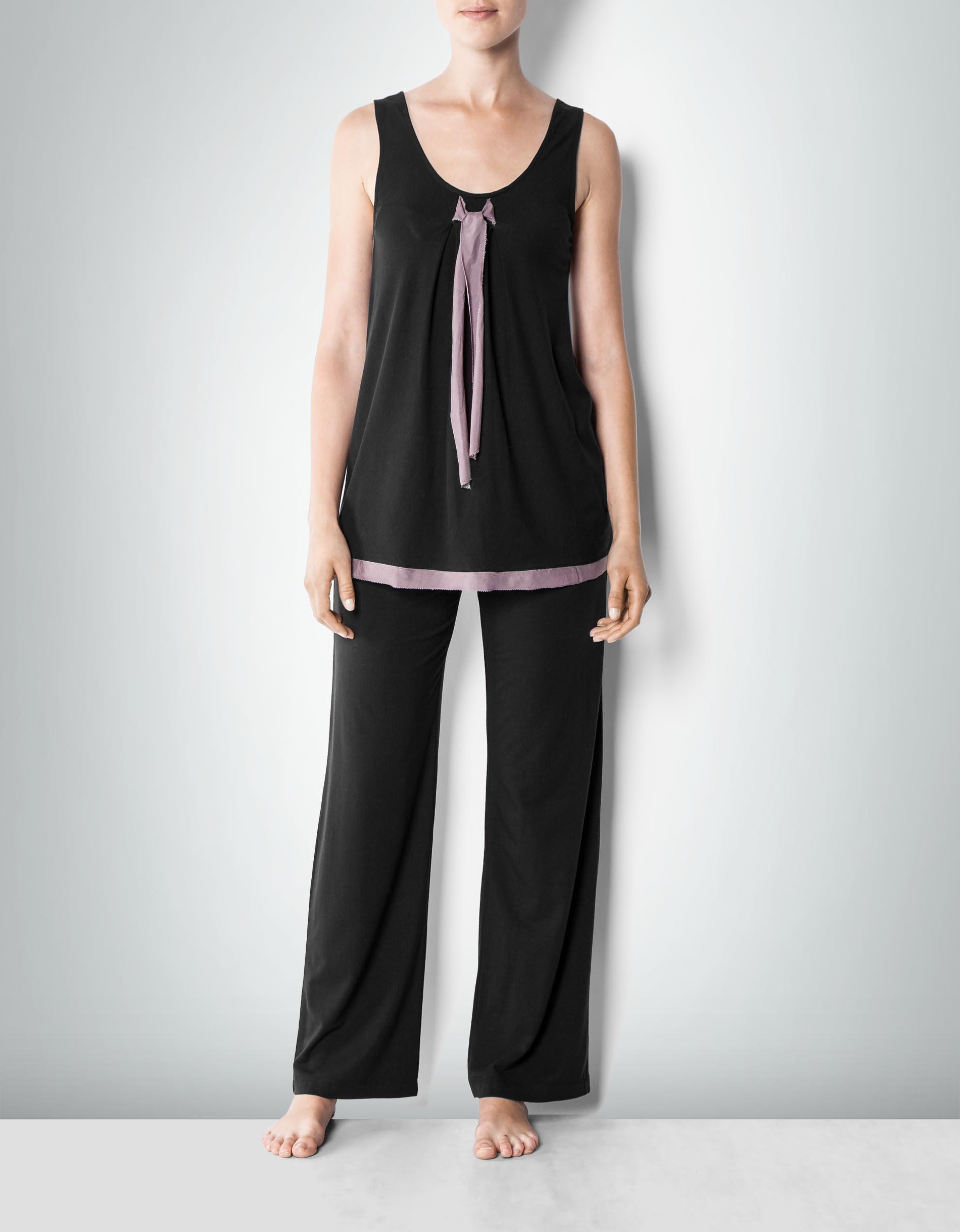half off 6f8ef 74ef5 DKNY Damen Pyjama aus Jersey im femininen Look empfohlen von ...