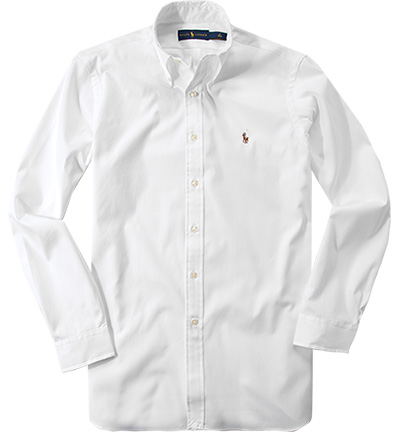 Polo Ralph Lauren Hemd white 712543860017