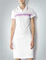 adidas Golf Damen Polo-Shirt weiß-orchidee Z62846