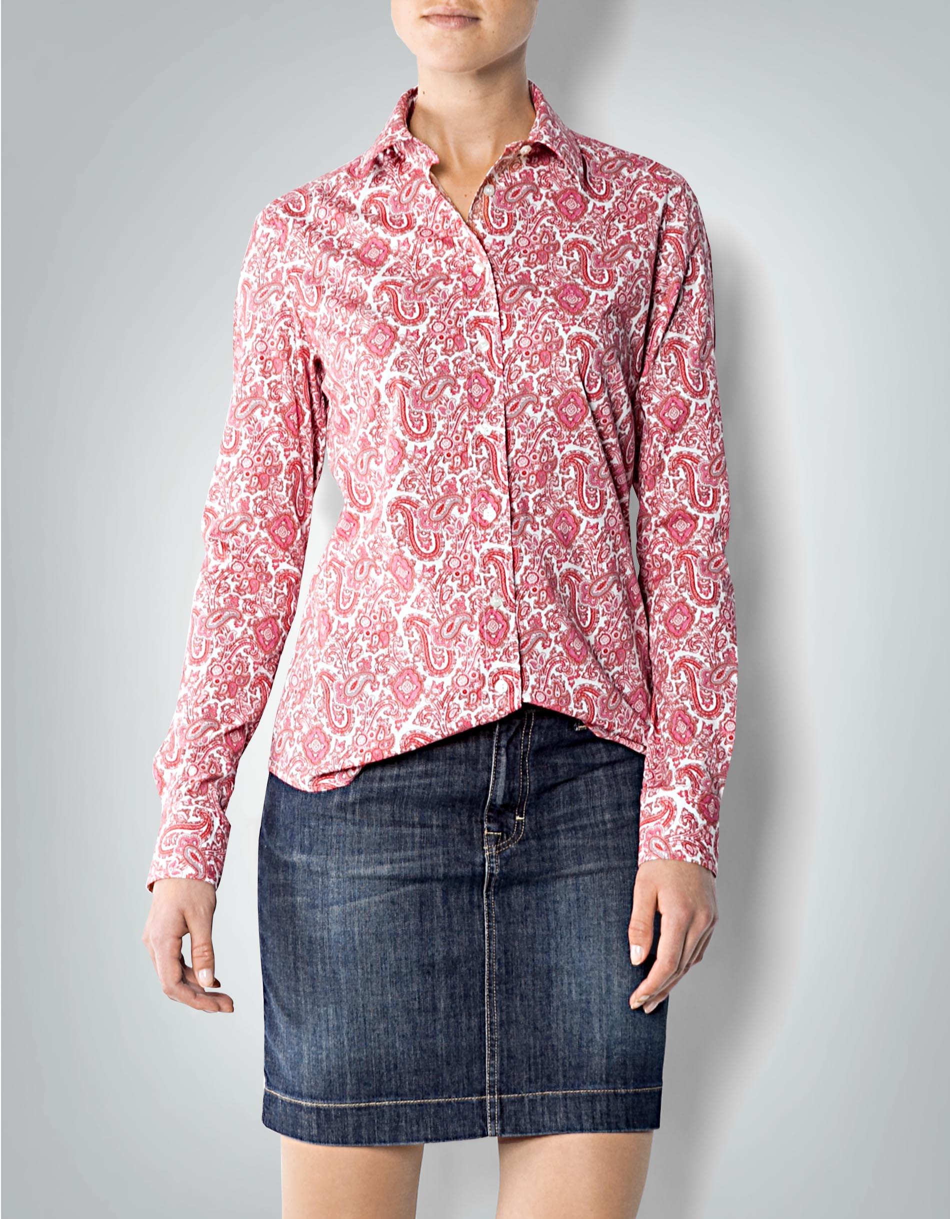 online store fca66 d3b69 Gant Damen Bluse rot im Paisley-Design empfohlen von Deinen ...
