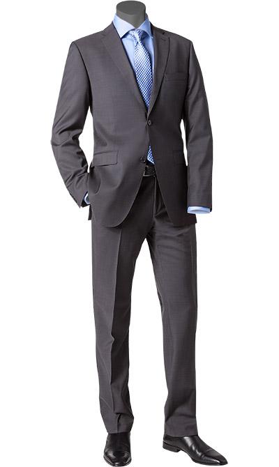 roy robson anzug in grau. Black Bedroom Furniture Sets. Home Design Ideas
