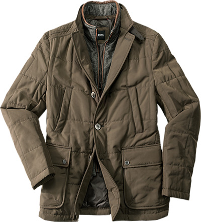 HUGO BOSS Jacke Cartano olivgrün 50246768/206